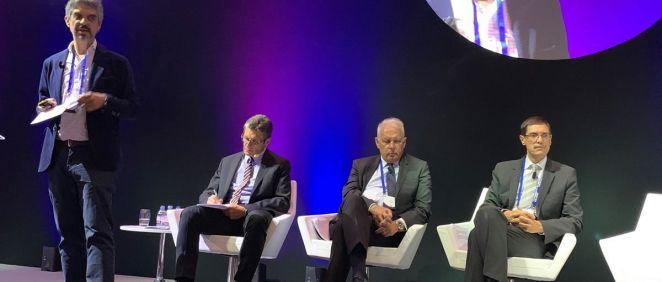 Jaume Pey, director general de anefp, durante su presentación