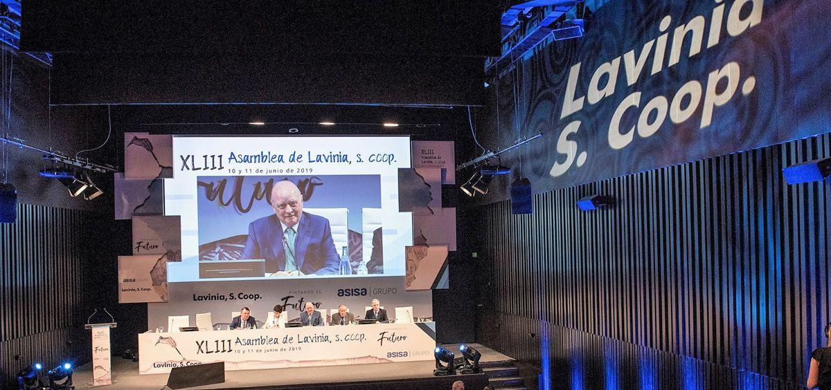 Francisco Ivorra, presidente de Lavinia ASISA, durante su intervención en la 43ª Asamblea de Lavinia