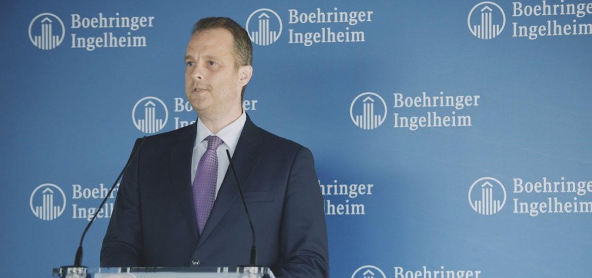 Peter Ploeger, director general de Boehringer Ingelheim España