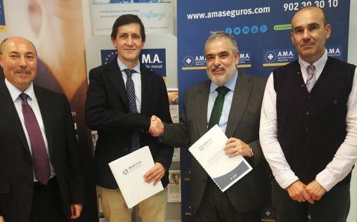 AMA Vida firma la póliza colectiva de Vida con los odontólogos de Guipúzcoa