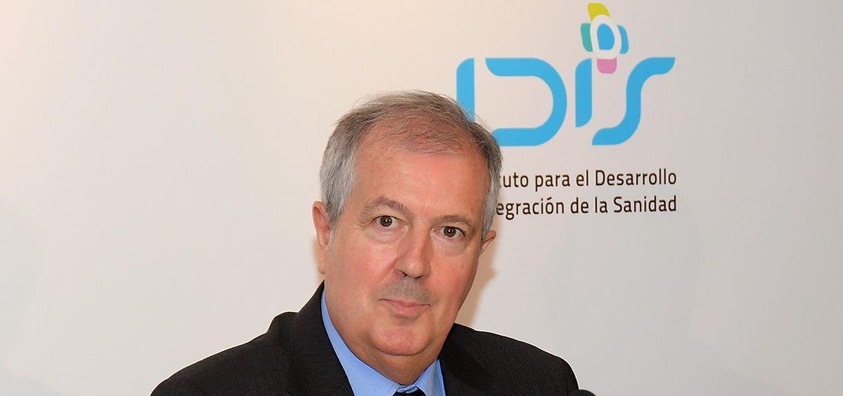 Luis Mayero, expresidente del Instituto para el Desarrollo e Integración de la Sanidad (Foto. Fundación IDIS)