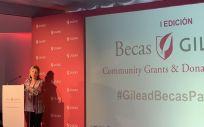 María Río, vicepresidenta y CEO de Gilead España. Foto. ConSalud