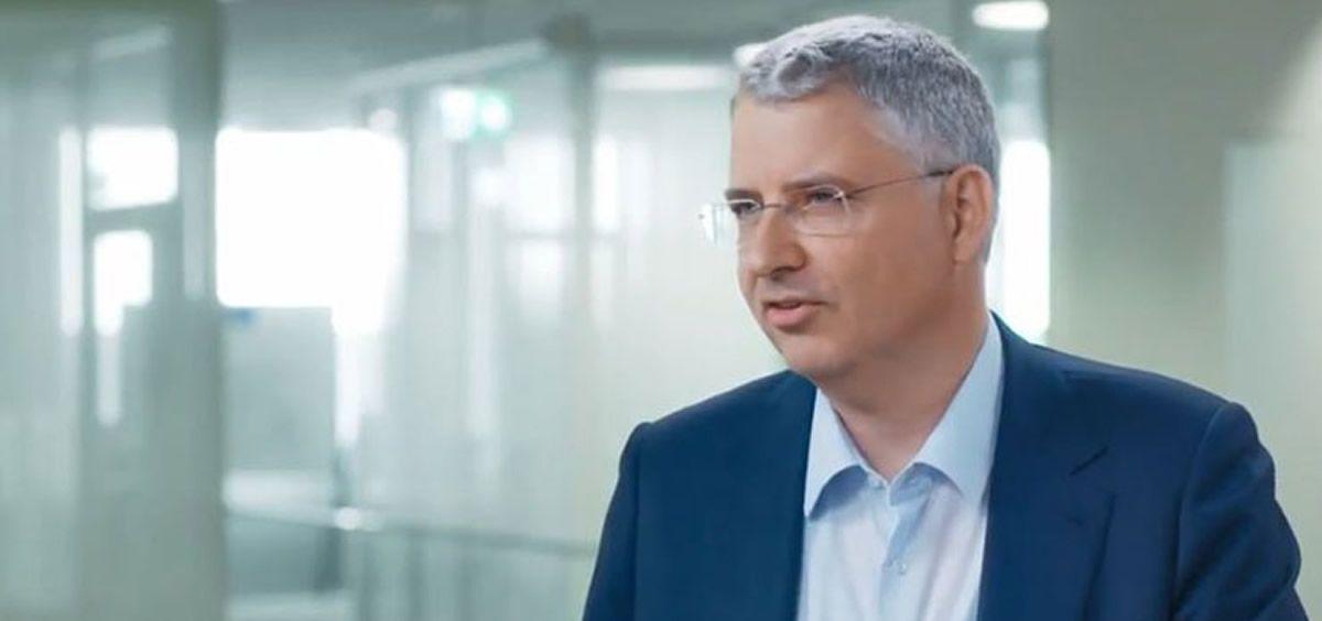 Severin Schwan, CEO de Roche. (Foto. Roche.com)