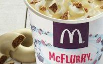 Los helados como McFlurry son más consumidos por los niños que los refrescos azucarados. (Foto. Change.org)