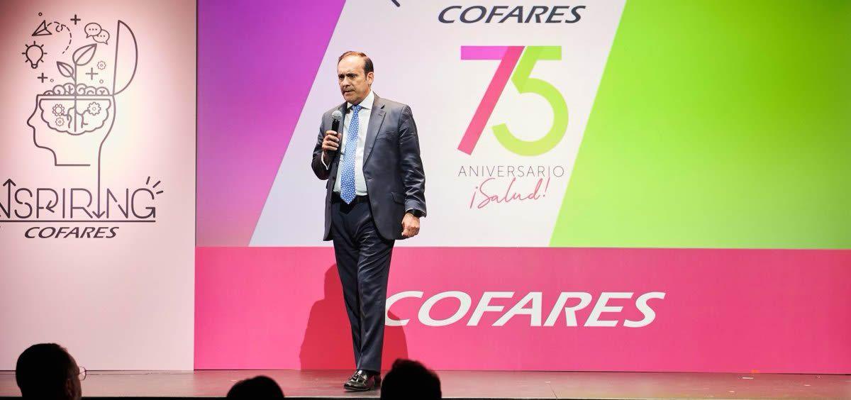 El presidente del Grupo Cofares, Eduardo Pastor (Foto: @Cofares)