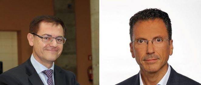 De izq. a dcha.: José Ramón Calvo, director de Marketing Europa de Nippon Gases Euro Holding; y Jorge Huertas, director de la división médica de Nippon Gases España y Portugal. (Fotomontaje. ConSalud.es)
