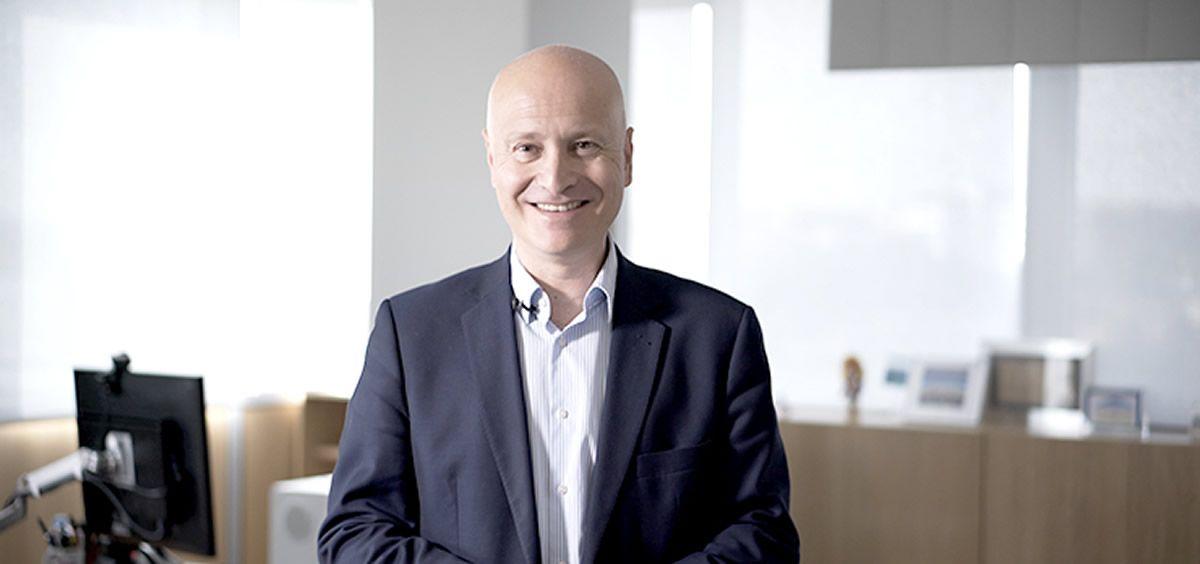 Stefanos Tsamousis, director general de Roche en España. (Foto. Roche)