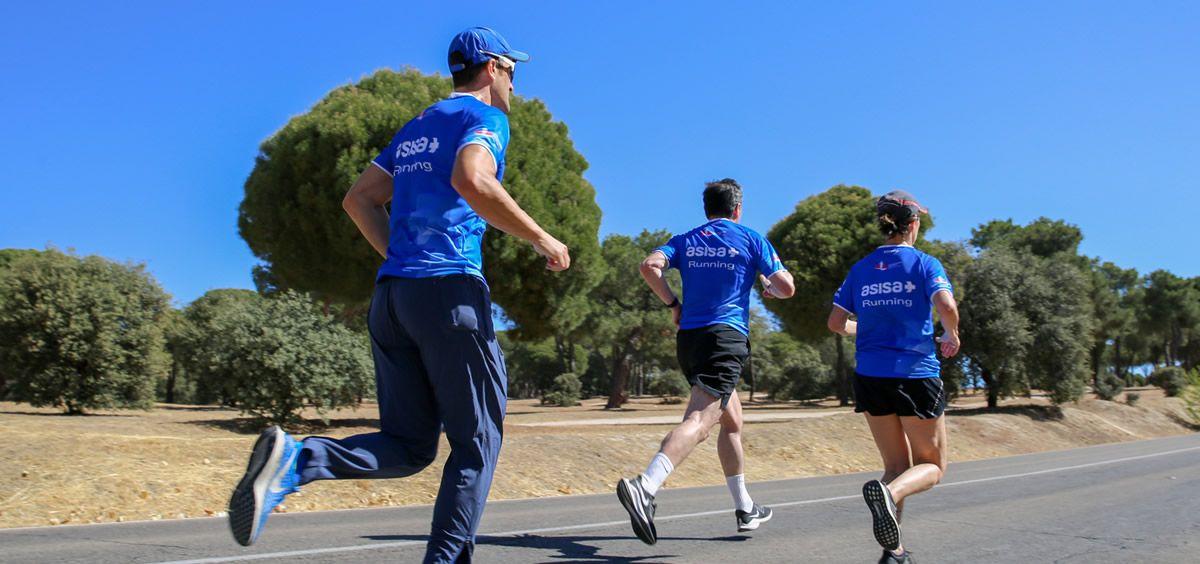 Durante los meses previos a TCS Amsterdam Marathon los corredores realizarán diferentes entrenamientos asesorados por especialistas de Asisa.