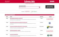 Estas son las ofertas de la última semana en GalenusJobs (Foto: ConSalud.es)