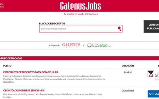 Estas son las ofertas de la semana en GalenusJobs