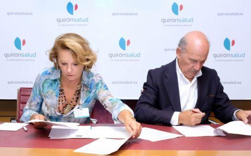 Los Hospitales Quironsalud de Sevilla y la AECC firman un acuerdo de voluntariado pionero