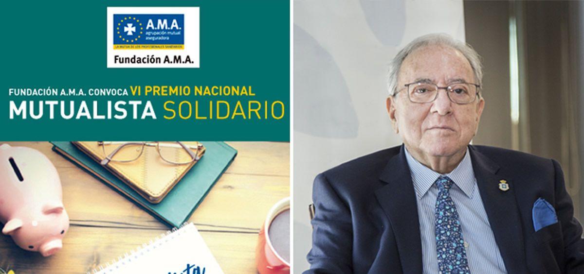 Diego Murillo, presidente de Honor de AMA (Foto. ECSalud)