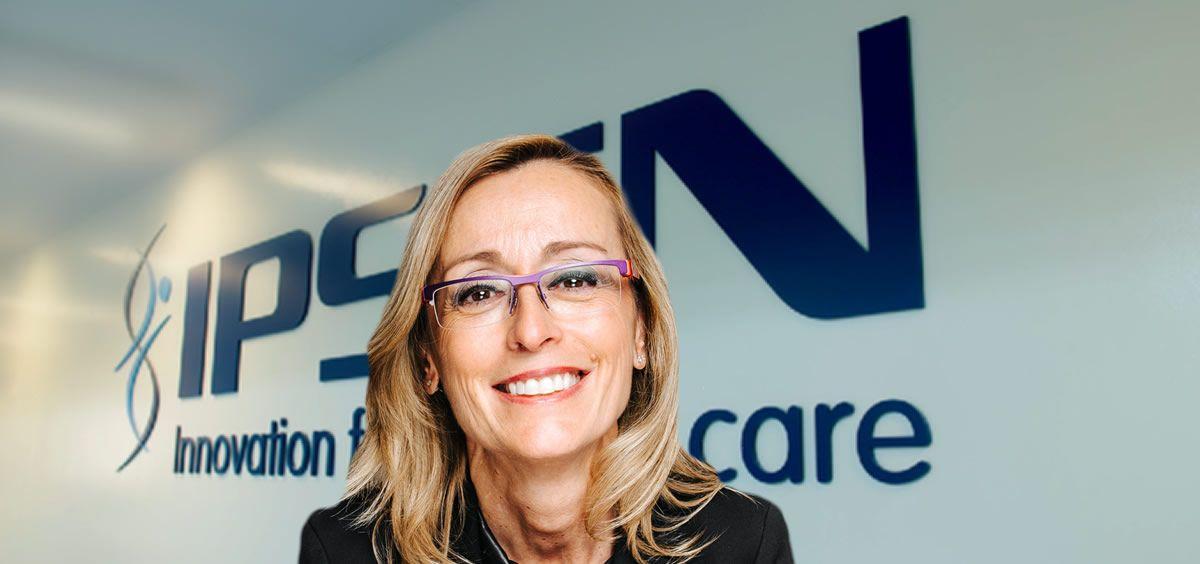 Aurora Berrade Unamuno, nueva directora general de Ipsen para España y Portugal. (Foto. Fotomonjate ECSalud)