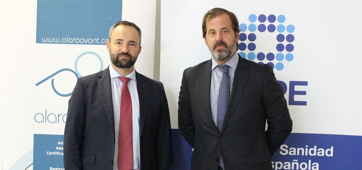 Alberto Martín y Carlos Rus. (Foto. ConSalud)