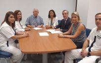 Acuerdo Linde Healthcare y el Centro de Enfermería San Juan de Dios. (Foto. ConSalud)