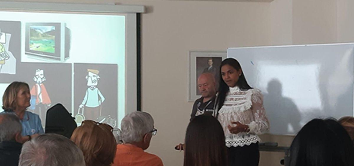 Oximesa organiza una charla para pacientes con tratamiento de oxigenoterapia domiciliaria. (Foto. ConSalud)