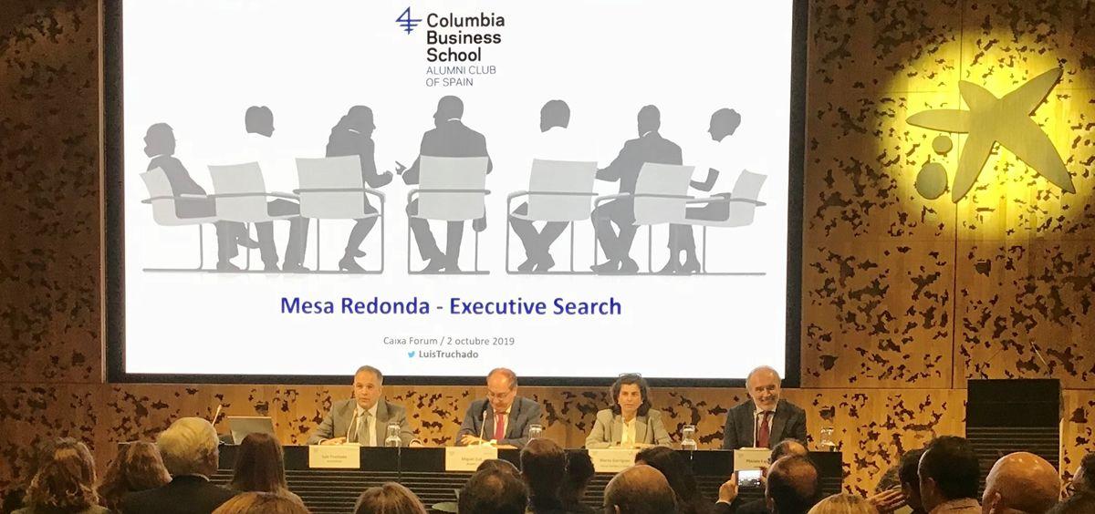 Luis Truchado, socio y director de EuroGalenus y cofundador de GalenusJobs, moderó el encuentro y abrió con una breve presentación sobre el estado actual del sector Life Science a nivel internacional. (Foto. ConSalud)