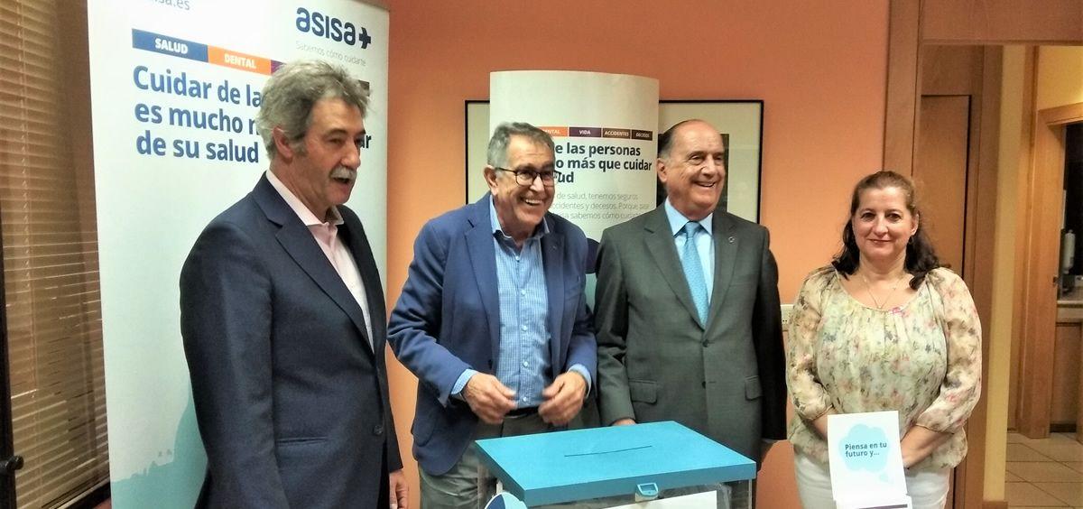 Asisa renueva su colaboración con la Hermandad de Donantes de Sangre de Ávila. (Foto. ECSalud)