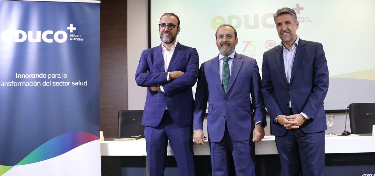 Presentación de la escuela de formación eDUCO+ Health Academy. (Foto. ECSalud)