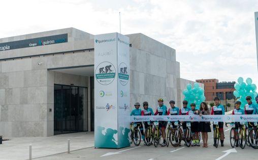 Arranca en Madrid el 'DesafíoQuirónsalud 2019 Pedaleando por la Inclusión'