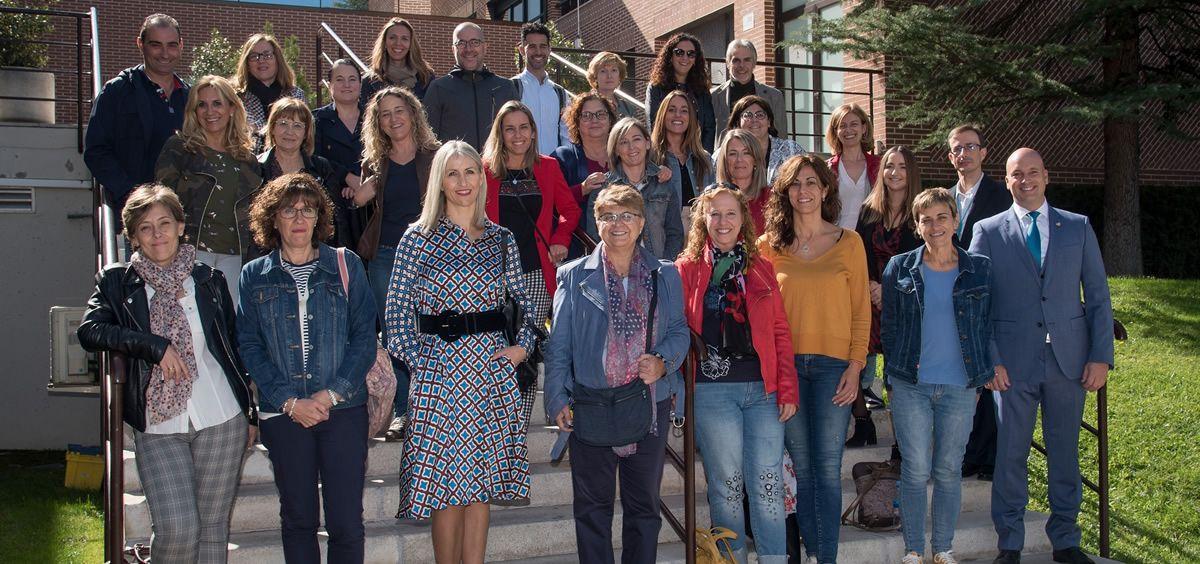 Foto grupo inauguración. (Foto. ConSalud.es)