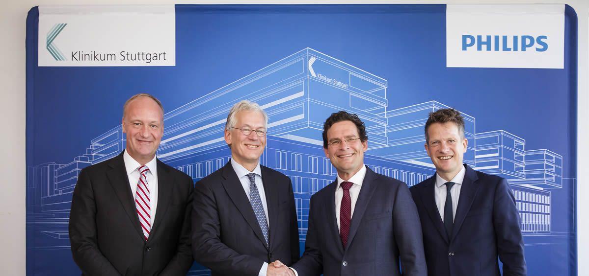 Philips y el hospital Klinikum Stuttgart firman un acuerdo de asociación de innovación por 10 años (Foto. Philips)