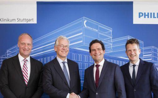 Philips firma un acuerdo de innovación con el Hospital Klinikum Stuttgart