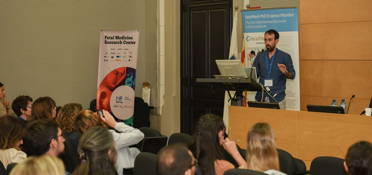 Xavier P. Burgos Artizzu, ingeniero informático en IA de Transmural Biotech. (Foto. ECSalud)
