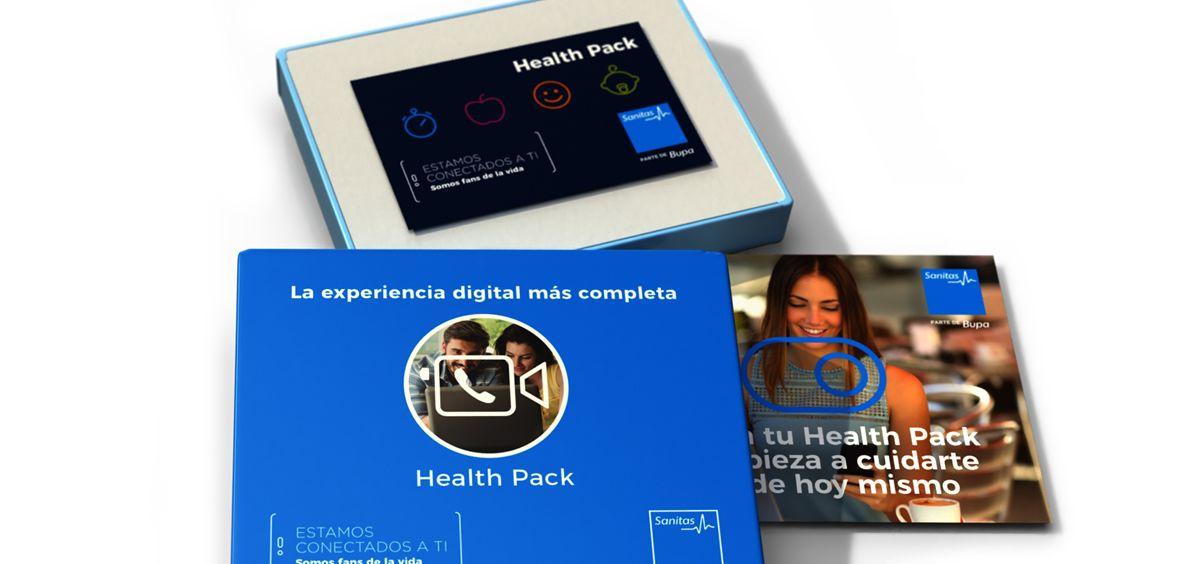 Sanitas comercializa sus nuevos health packs a través de Amazon
