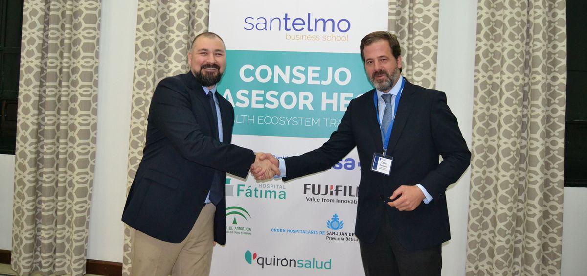 ASPE firma un acuerdo de colaboración con San Telmo Business School