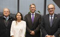 De izq. a dcha.: Diego Murillo, Raquel Murillo, Juan Manuel Nieblas y Luis Campos.