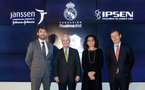 Las compañías farmacéuticas Ipsen y Janssen, nuevos patrocinadores de la Fundación Real Madrid