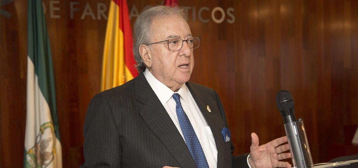 Diego Murillo, presidente de honor de A.M.A. y presidente de la Fundación