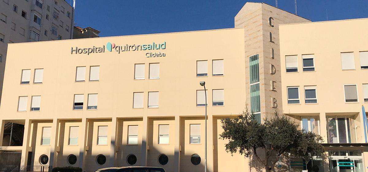Hospital Quirónsalud Clideba. (Foto. Quirónsalud)