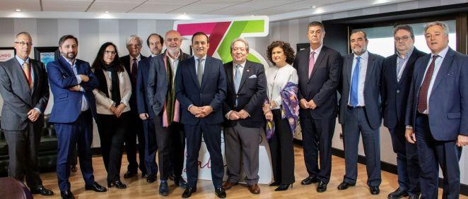 Firma del acuerdo entre Cofares y Cofarta