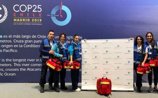 Quirónprevención, proveedor de los equipos sanitarios de la Cumbre del Clima de Madrid