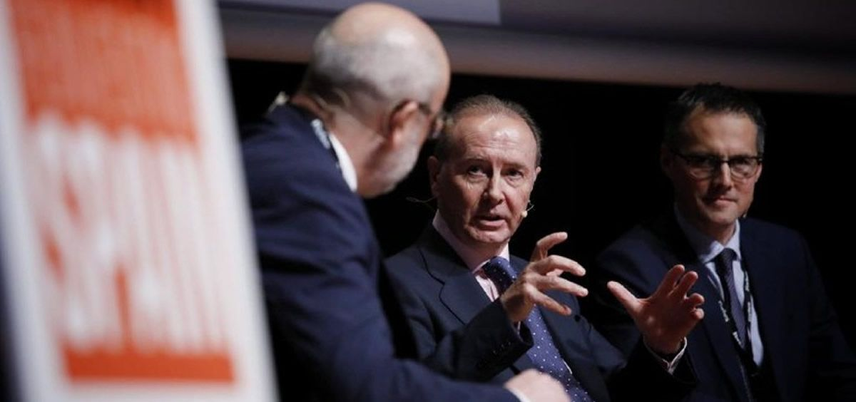 Martín Sellés, director general de Janssen, durante su intervención en el Forbes Summit (Foto. Javier Carbajal)
