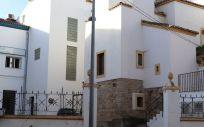 Fachada exterior del Hospital Santa Justa. (Foto. Ayuntamiento de Villanueva de la Serena)