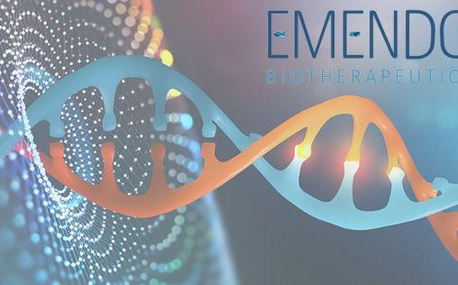 Emendo Biotherapeutics recauda cerca de 60 millones para avanzar en terapias de edición del genoma