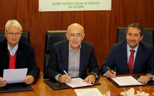 Asisa y el Colegio de Médicos de Cáceres firman un acuerdo de colaboración