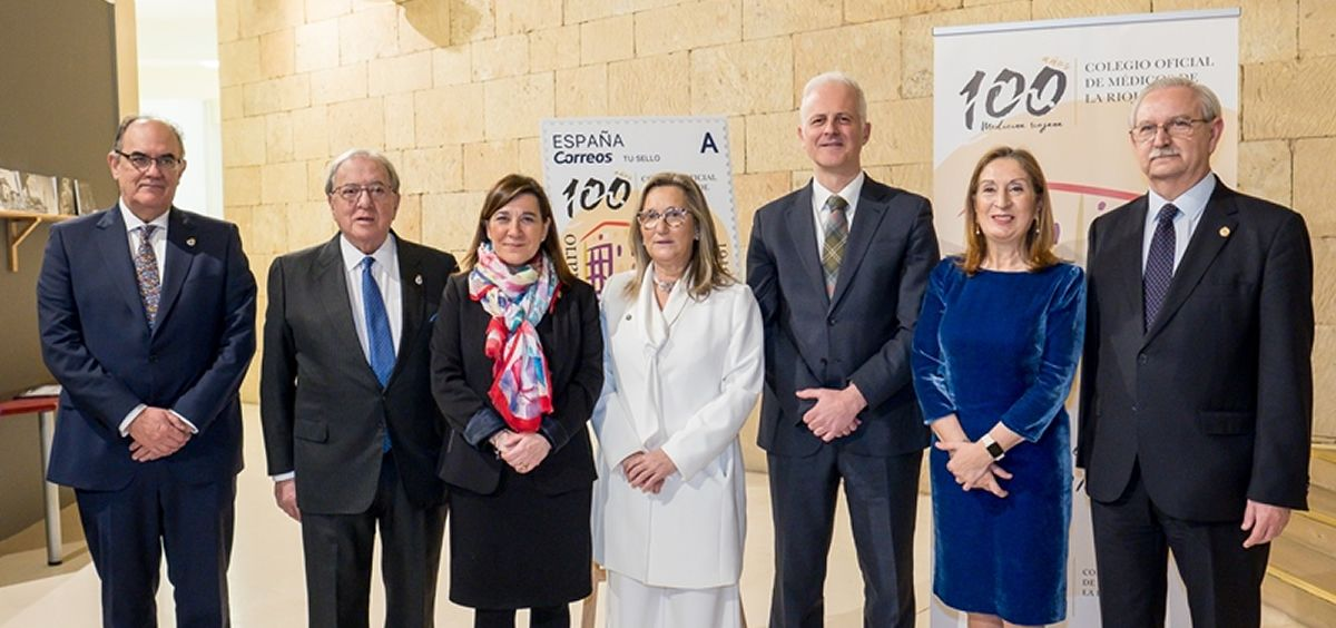 Diego Murillo, condecorado con la Insignia de Oro del Colegio Oficial de Médicos de La Rioja