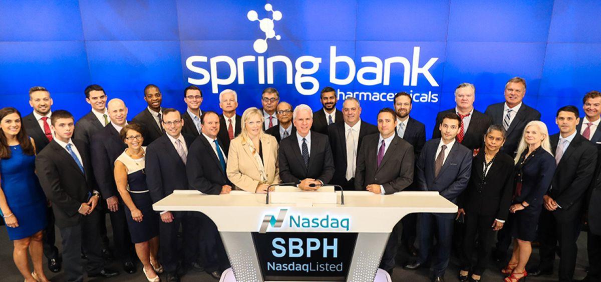 Equipo de Spring Bank Pharmaceuticals