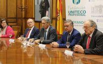 La Fundación Uniteco y la Universidad de Alcalá de Henares (UAH) han renovado su compromiso con respecto a la Cátedra de Salud, Derecho, Seguro y Responsabilidad Civil para los próximos tres años (Foto. Fundación Uniteco)