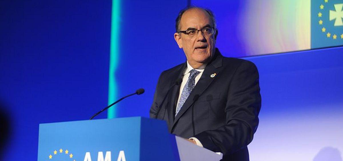 Presidente de A.M.A., Luis Campos