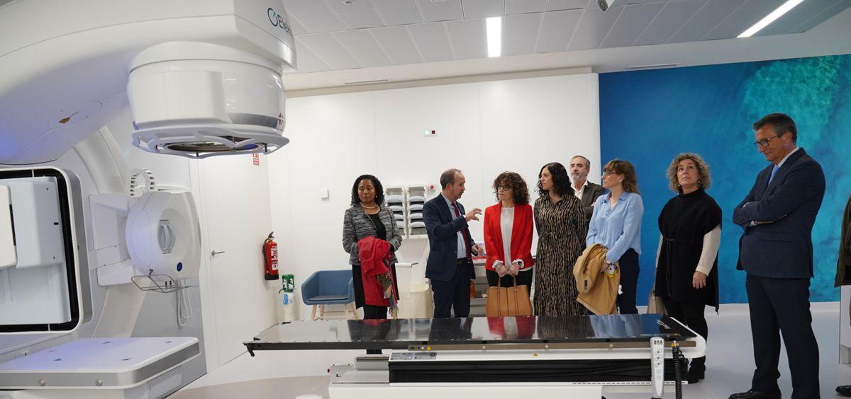 El centro de GenesisCare de Toledo ha sido reformado por completo en la búsqueda de un diseño que ofreciera la mayor comodidad al paciente (Foto. ECSalud)