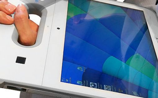 Cybernet presenta la primera pantalla antimicrobiana del mundo en un ordenador médico