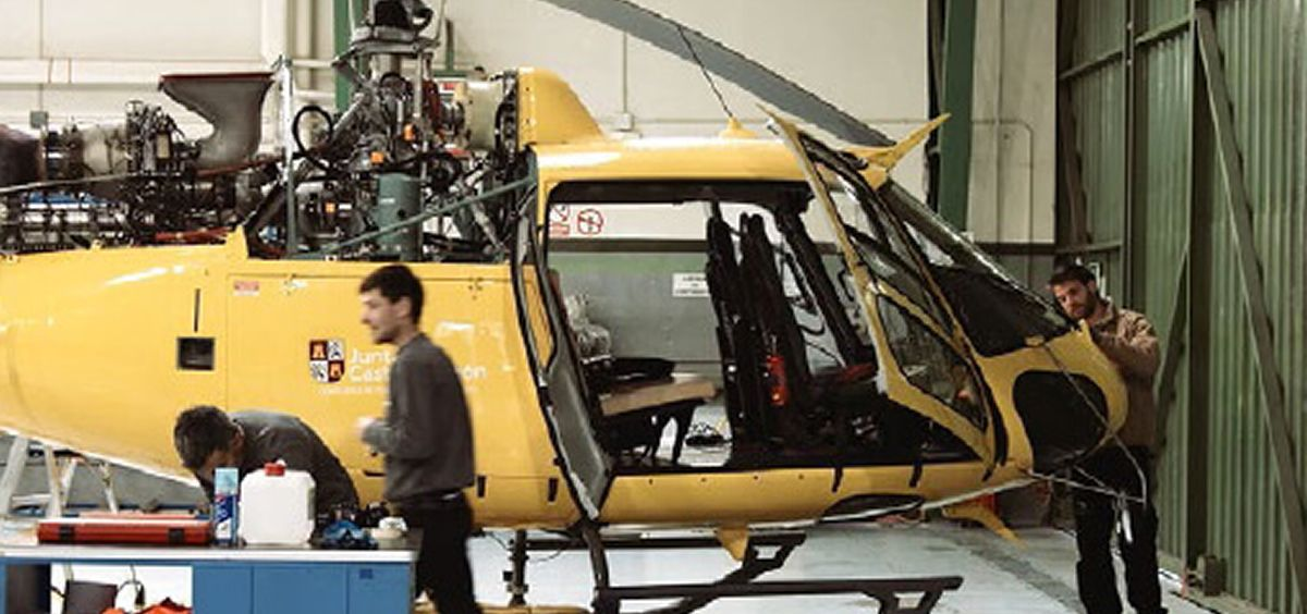 Eliance da el cambiazo con los aviones ambulancia en Melilla y al final pone uno con 40 años. (Foto. Eliance)