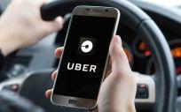 Aplicación móvil de Uber. (Foto. Uber)