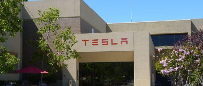 Sede de Tesla en California. (Foto. Wikipedia)