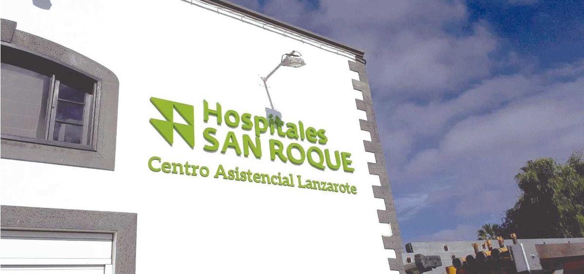 Hospitales San Roque. Centro Asistencial Lanzarote. (Foto. Hospitalessanroque.com)